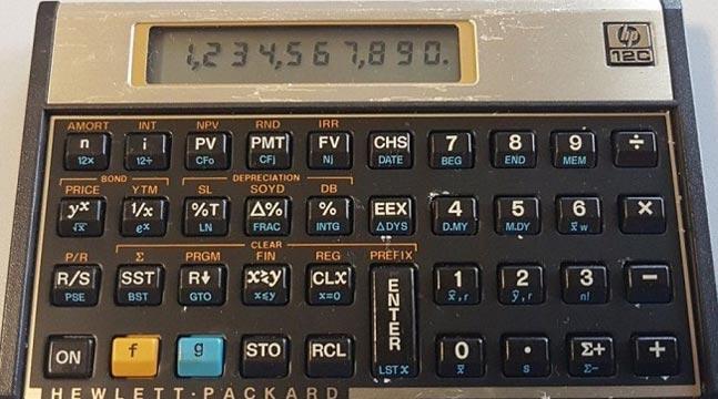 Первый финансовый калькулятор